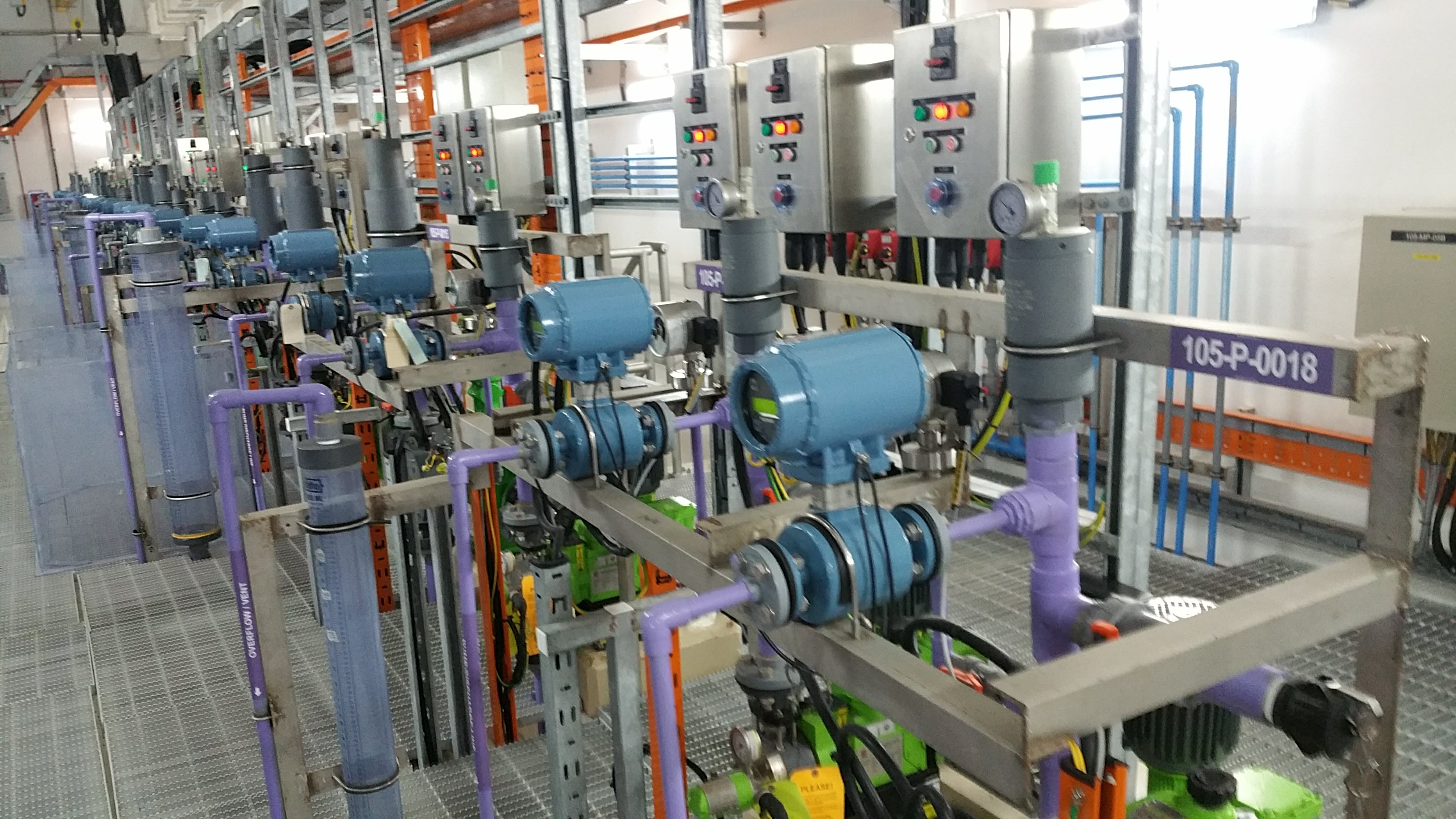 Mechanical Pumps for Water Treatment Industry